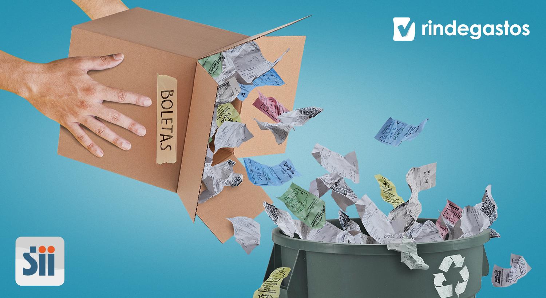 ¡Al fin podrás botar las boletas de papel en Chile!