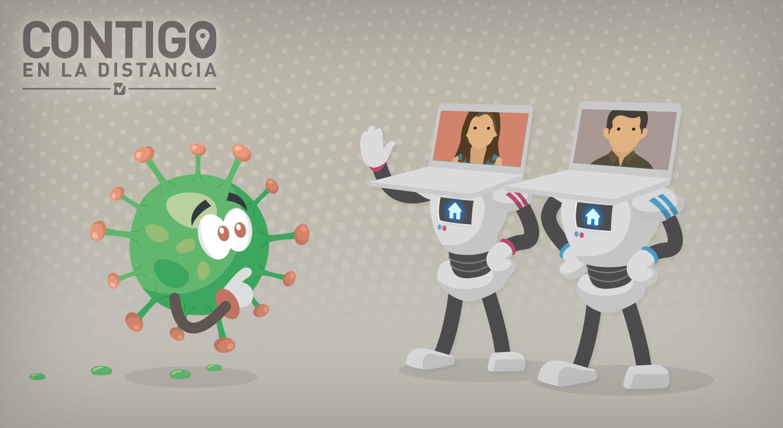 Empresas y mercados se digitalizan ante el coronavirus